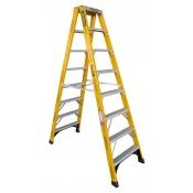 Gorilla 2.4m 150kg Double Sided Fibreglass Ladder FSM008-I