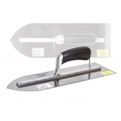 Truline 355mm Pointed Light Weight Carbon Steel Trowel Float TR-CK355